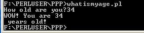 Screen Capture of Command Prompt